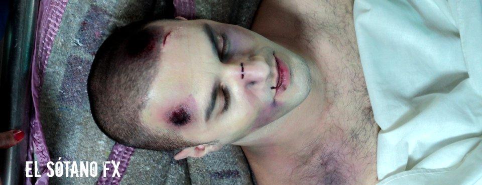 Maquillaje FX - Video clip Morgue Corazón - Jauría (2011)